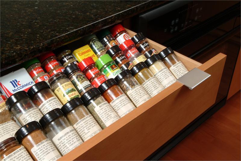 20x21 Universal Spice Drawer Organizer